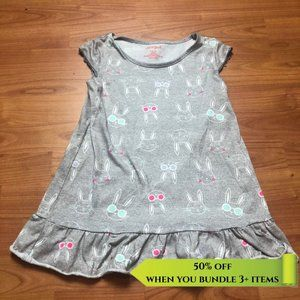 Cat & Jack Bunny Nightgown - Size 6